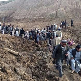 Romsey Advertiser: British charities are mobilising to help with the rescue effort after a landslide is feared to have buried 2,700 people in a village in Afghanistan (AP)