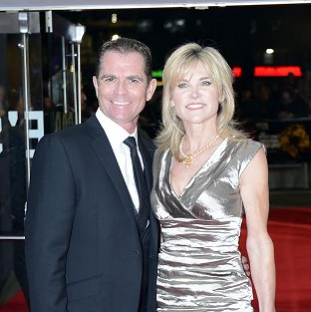 Romsey Advertiser: Anthea Turner and Grant Bovey ended their 13-year-marriage last year
