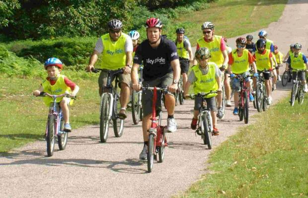 Romsey Advertiser: Winchester cycling group launches new fam