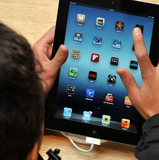 High numbers of youngsters took gadgets such as laptops, tablets and smartphones to bed with them, the study said