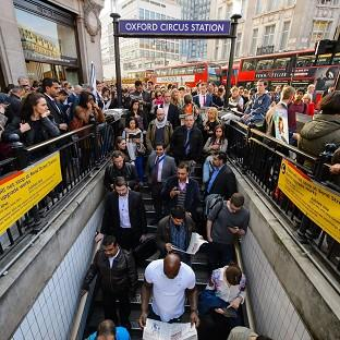 The recent tube strike caused huge disruption