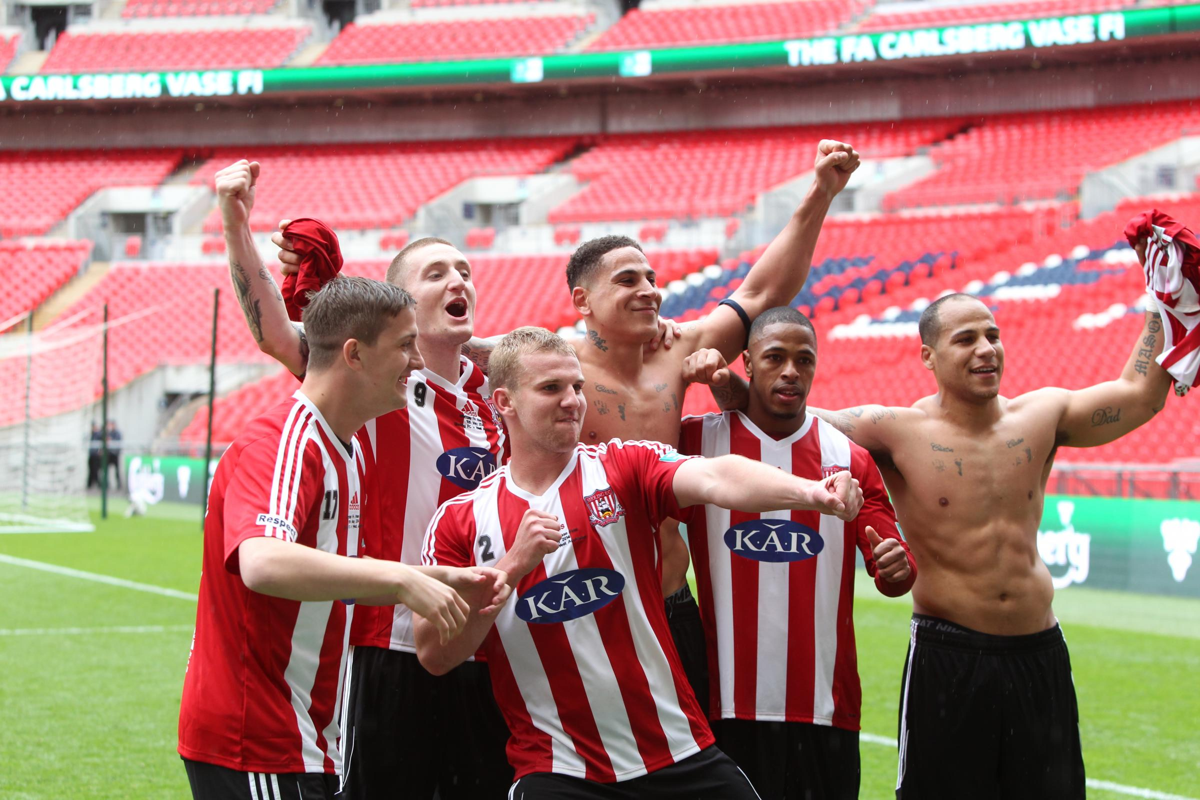 Sholing win FA Vase with Wembley victory