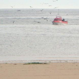 A windsurfer brought to shore in Redcar, Cleveland by rescue services has died.