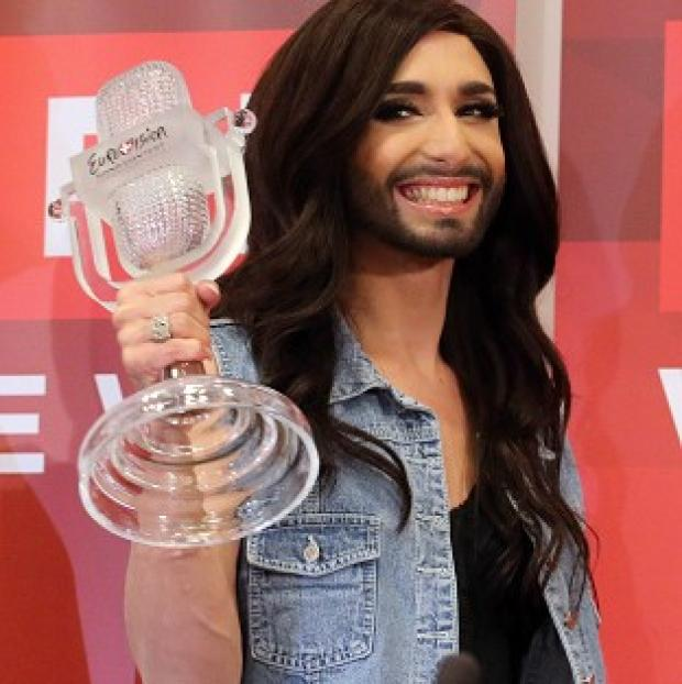Romsey Advertiser: The Austrian winner is a drag act whose real name is Tom Neuwirth (AP)