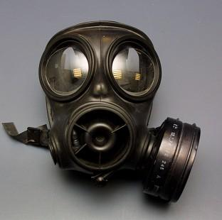 The HSE said gas masks may contain traces of asbestos and should be banned in schools