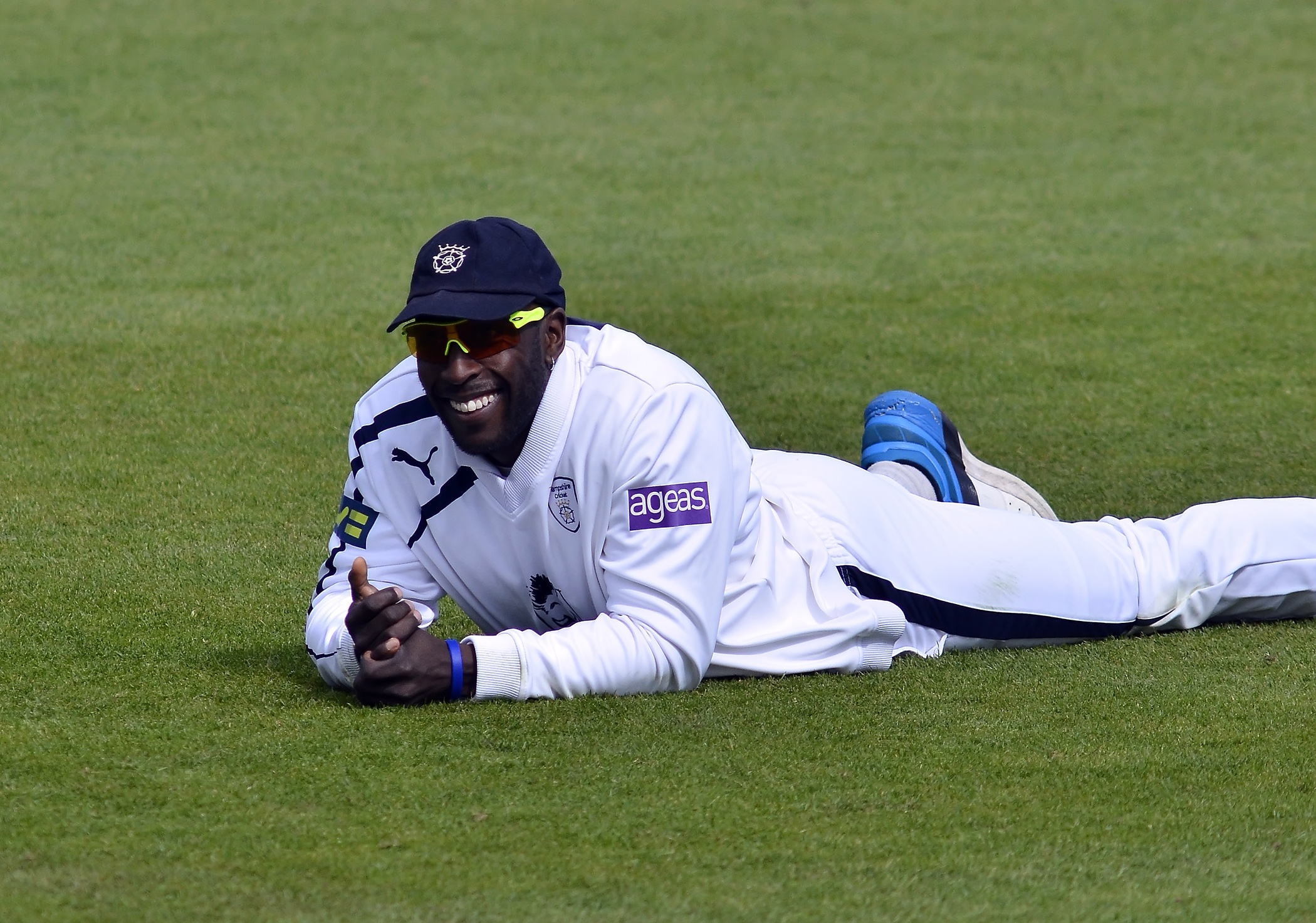 Michael Carberry had reasons to smile today (Pic: Neil Marshall)