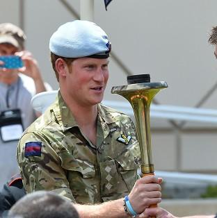 Romsey Advertiser: Prince Harry has urged the public to support the Invictus Games.