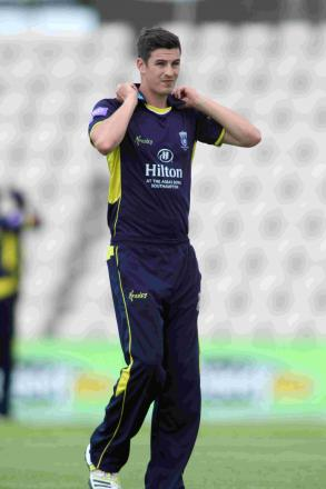 Chris Wood continued his recovery from knee surgery by playing for Hampshire Academy