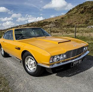 Romsey Advertiser: The famed 1970 Aston Martin DBS which starred in the hit British television series The Persuaders! sold for �533,500