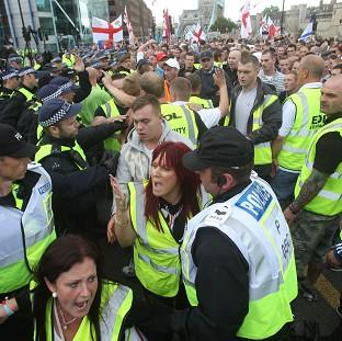 A chief constable has urged a crackdown on rallies by far-right groups such as the English Defence League