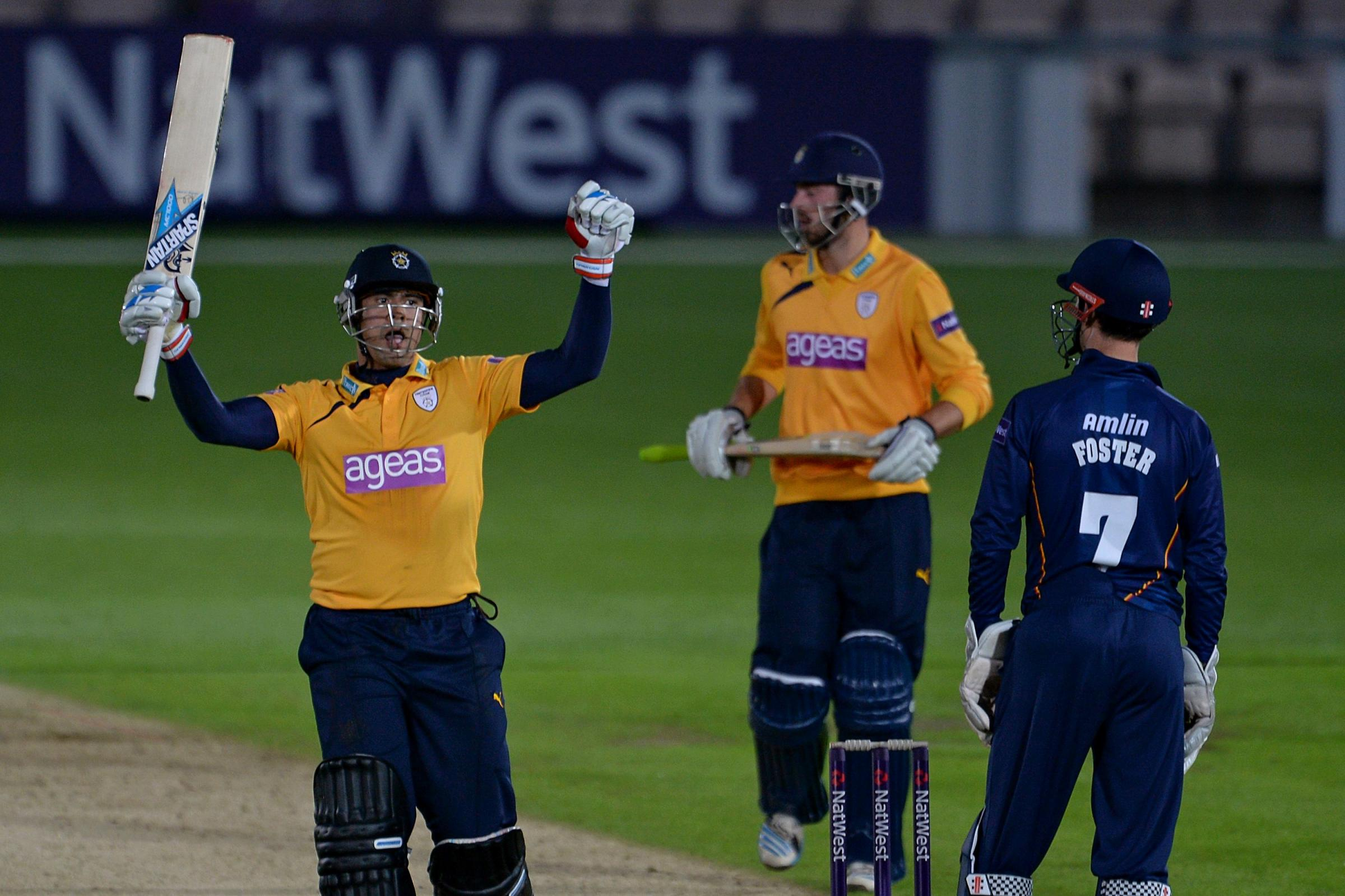 Vince and Shah star as Hants win again
