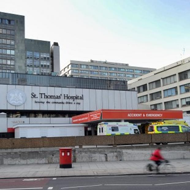 Romsey Advertiser: The baby was being treated in the neonatal intensive care unit at St Thomas' Hospital in London