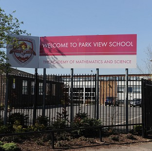 Park View school in Birmingham, which was investigated over allegations of a hardline Islamist takeover plot