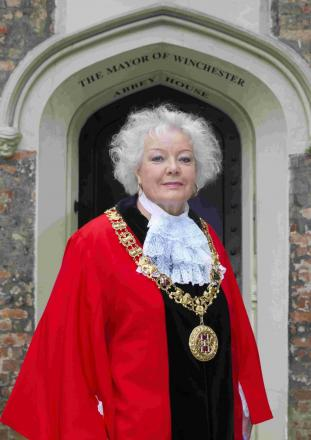 Cllr Berry has become Winchester's 815th mayor