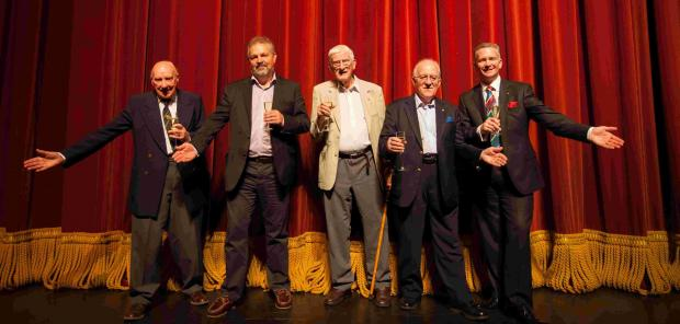 The gang of six created The Winchester Theatre Fund in 1974 and stopped the theatre from becoming a supermarket