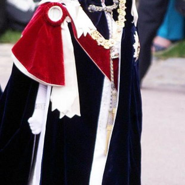 Romsey Advertiser: The Queen makes her way to St George's Chapel in the grounds of Windsor Castle for the annual Order of the Garter service