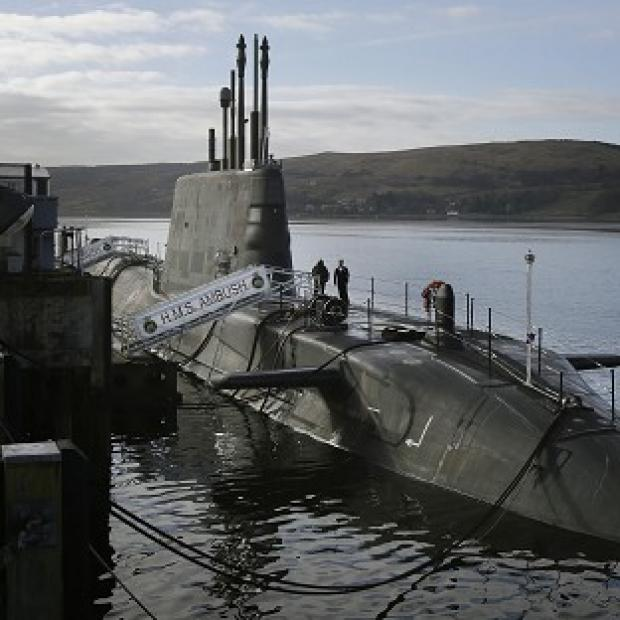 Romsey Advertiser: A survey found 41 per cent of Scots would be happy with Britain's nuclear submarines remaining on the Clyde even if the country becomes independent