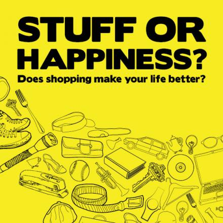 Stuff or happiness? is the question at WinACC meeting on July 8