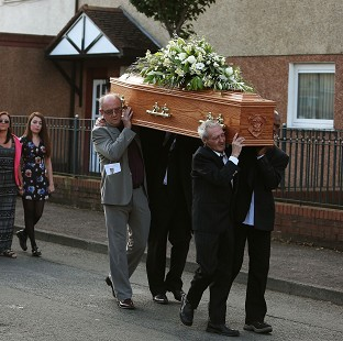 Funeral of 'victorious' Conlon held