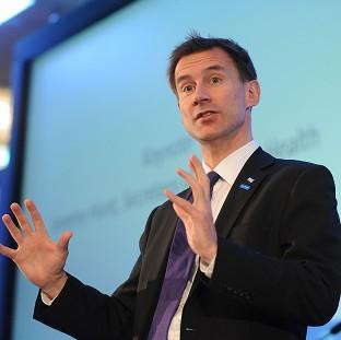 Romsey Advertiser: Jeremy Hunt said tough action must be taken to improve cancer diagnosis levels
