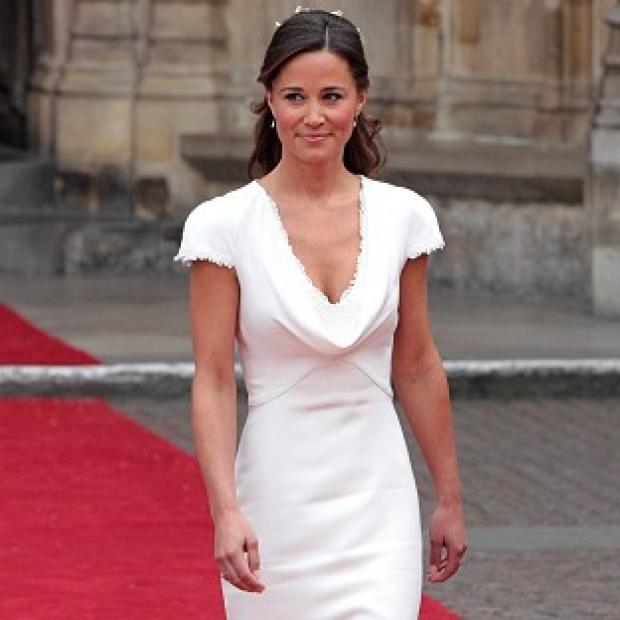 Romsey Advertiser: Pippa Middleton says her bridesmaid's dress was meant to be almost insignificant