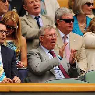 Romsey Advertiser: Former Manchester United manager Sir Alex Ferguson watched Murray's quarter-final victory last year
