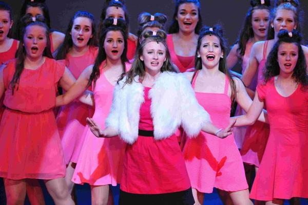 Stagecoach students performed Legally Blonde at the Southsea stage