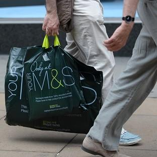 Marks & Spencer saw three straight years of quarterly declines for the general merchandising division