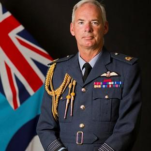 Air Chief Marshal Sir Andrew Pulford says military figures