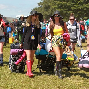 80,000 soak up sun at T in the Park