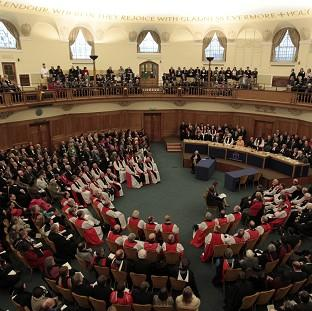 The General Synod will discuss a proposed new baptism service