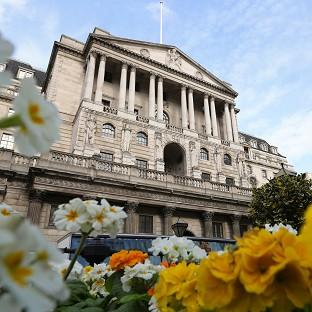 The Bank of England in London as Britain's longest stretch of low inflation for nine years was confirmed when official figures were published