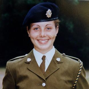Private Cheryl James was found dead in November 1995
