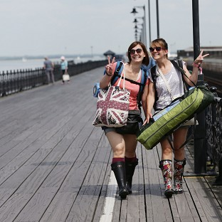 Ryde pier on the Isle of Wight celebrates its 200th anniversary