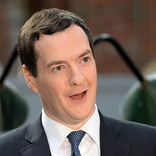 George Osborne is announcing a multimillion-pound boost for Scotland's life sciences industry
