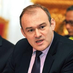 Ed Davey said the area that hosted a disposal facility would benefit from significant investment