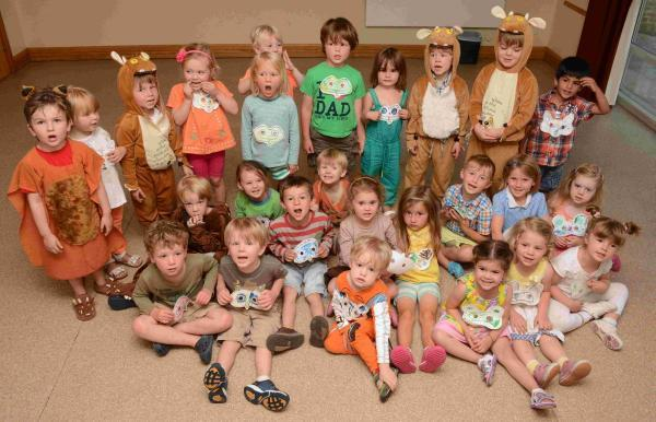 There were mixed emotions at Littleton Pre-School when they held their leavers assembly on Wednesday (July 23)