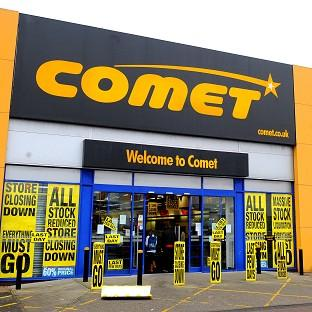 Comet collapsed with the loss of 7,000 jobs