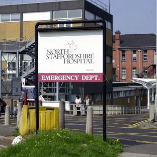 North Staffordshire Hospital's emergency department was evacuated