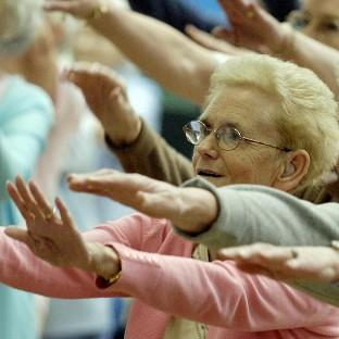 A university study has suggested a new approach to the way older people get exercise