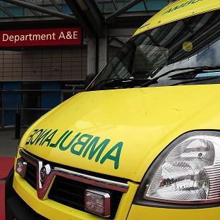 Ambulances are expected to respond to critical cases within eight minutes