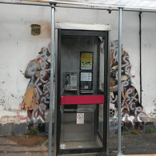 Bid to save vandalised Banksy mural