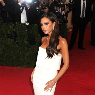 Victoria Beckham said choosing items for the sale of her clothing was an enjoyable experience