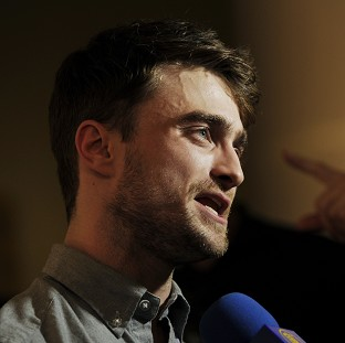 Daniel Radcliffe is promoting his new film, What If (AP)