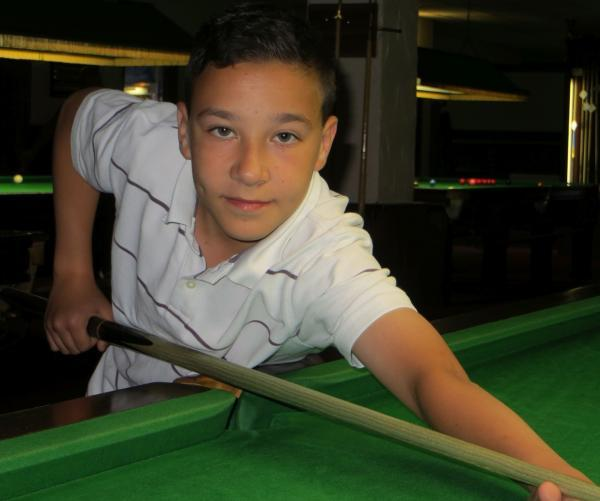 Rising snooker star Luke claims a league double