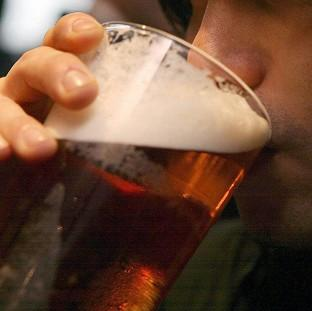 Health officials believe advising people never to drink two days in a row would have a positive impact
