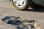 Claims for compensation for pothole damage to cars has risen by 60 per cent in Hampshire