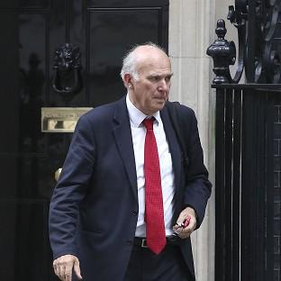 Vince Cable said the exports would be reviewed in the event of further hostilities