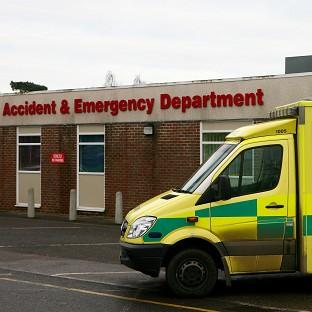 Problems were identified in the Accident and Emergency Department of the William Harvey Hospital in Ashford