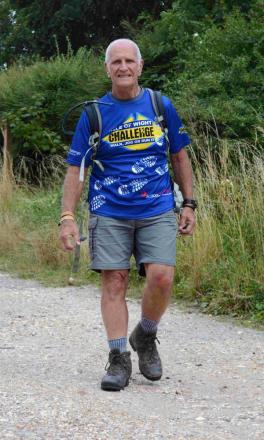 Derek Weaver will spend 24 hours walking 106 kilometres, despite being told he has prostate cancer.